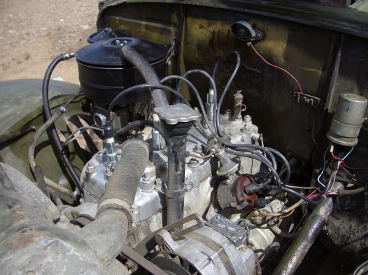 ГАЗ - 69. Трудяга-мотор не дал
